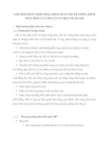 GIẢI PHÁP HOÀN THIỆN HOẠT ĐỘNG QUẢN TRỊ  HỆ THỐNG KÊNH PHÂN PHỐI CỦA CÔNG TY CỔ PHẦN PIN HÀ NỘI