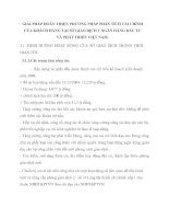 GIẢI PHÁP HOÀN THIỆN PHƯƠNG PHÁP PHÂN TÍCH TÀI CHÍNH CỦA KHÁCH HÀNG TẠI SỞ GIAO DỊCH I  NGÂN HÀNG ĐẦU TƯ VÀ PHÁT TRIỂN VIỆT NAM