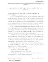 MỘT SỐ GIẢI PHÁP ĐẨY MẠNH tình hình tài chính tại công ty cổ phần xuất nhập khẩu thủy sản An Giang