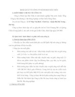 KHÁI QUÁT VỀ CÔNG TY BÁNH KẸO HẢI CHÂU