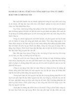 ĐÁNH GIÁ CHUNG VỀ KẾ TOÁN TỔNG HỢP TẠI CÔNG TY THIẾT BỊ KỸ THUẬT ĐIỆN HÀ NỘI