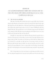 CÁC GIẢI PHÁP NHẰM Hoàn Thiện Thủ Tục Phân Tích Trong Tiến Trình Lập Kế Hoạch Tại Các Công Ty Kiểm Toán Việt Nam