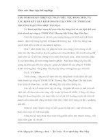 GIẢI PHÁP HOÀN THIỆN KẾ TOÁN TIÊU THỤ HÀNG HOÁ VÀ XÁC ĐỊNH KẾT QUẢ KINH DOANH TẠI CÔNG TY TNHH XNK THƯƠNG MẠI TỔNG HỢP TẤN ĐẠT