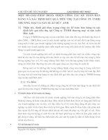 MỘT SỐ GIẢI PHÁP HOÀN THIỆN CÔNG TÁC KẾ TOÁN BÁN HÀNG VÀ XÁC ĐỊNH KẾT QUẢ TIÊU THỤ TẠI CÔNG TY TNHH THƯƠNG MẠI VÀ SẢN XUẤT ĐỨC ANH