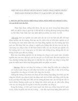 MỘT SỐ GIẢI PHÁP NHẰM HOÀN THIỆN HOẠT ĐỘNG PHÂN PHỐI SẢN PHẨM Ở CÔNG TY GẠCH ỐP LÁT HÀ NỘI
