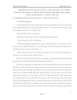 NHẬN XÉT VỀ CÔNG TÁC KẾ TOÁN VL  CCDC TẠI CÔNG TY CỔ PHẦN SÔNG ĐÀ 7.02 VÀ MỘT SỐ Ý KIẾN ĐỀ XUẤT NHẰM GÓP PHẦN HOÀN THIỆN CÔNG TÁC KẾ TOÁN VL - CCDC Ở CÔNG TY