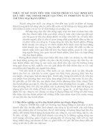 THỰC TẾ KẾ TOÁN TIÊU THỤ THÀNH PHẨM VÀ XÁC ĐỊNH KẾT QUẢ TIÊU THỤ THÀNH PHẨM TẠI CÔNG TY TNHH SẢN XUẤT VÀ THƯƠNG MẠI RẠNG ĐÔNG
