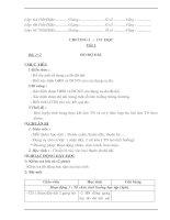 Giáo an vật lý 6 năm học 2013 2014 (nội dung có tích hợp GDBV MT)