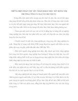 NHỮNG BIỆN PHÁP CHỦ YẾU NHẰM KHAI THÁC MỞ  RỘNG THỊ TRƯỜNG CÔNG TY MAY 19-5 BỘ NỘI VỤ