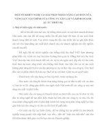 MỘT SỐ KHIẾN NGHỊ VÀ GIẢI PHÁP NHẰM NÂNG CAO HƠN NỮA NĂNG LỰC TÀI CHÍNH CỦA CÔNG TY XÂY LẮP VÀ KINH DOANH  ẬT TƯ THIẾT BỊ