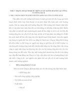 THỰC TRẠNG HOẠCH ĐỊCH CHIẾN LƯỢC KINH DOANH TẠI CÔNG TY SÔNG ĐÀ II