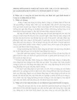 PHƯƠNG HƯỚNG HOÀN THIỆN KẾ TOÁN TIÊU THỤ VÀ XÁC ĐỊNH KẾT QUẢ KINH DOANH Ở CÔNG TY CỔ PHẦN ĐIỆN TỬ NEW