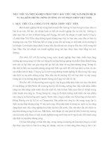 MỤC TIÊU VÀ MỘT SỐ BIỆN PHÁP THÚC ĐẨY TIÊU THỤ SẢN PHẨM DỊCH VỤ MẠ KẼM NHÚNG NÓNG Ở CÔNG TY CỔ PHẦN THÉP VIỆT TIẾN
