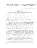 BÀI DỰ THI SÁNG KIẾN TRUYỀN THÔNG THAY ĐỔI HÀNH VY TRONG PHÒNG CHỐNG MA TÚY
