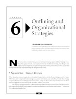 Write Better Essays - Outlining and Organizational Strategies