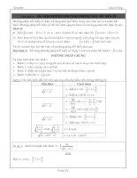 Xác định nguyên hàm bằng phương pháp đổi biến số