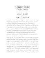 LUYỆN ĐỌC TIẾNG ANH QUA TÁC PHẨM VĂN HỌC-Oliver Twist -Charles Dickens -CHAPTER 21