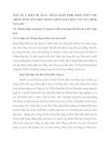 MỘT SỐ Ý KIẾN ĐỀ XUẤT NHẰM HOÀN THIỆ KIỂM TOÁN CHU TRÌNH HÀNG TỒN KHO TRONG KIỂM TOÁN BÁO CÁO TÀI CHÍNH TẠI AASC