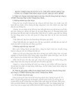 HOÀN THIỆN HẠCH TOÁN LƯU CHUYỂN HÀNG HOÁ TẠI CÔNG TY TNHH THƯƠNG MẠI VÀ KỸ THUẬT DUY BÌNH
