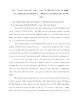 THỰC TRẠNG TỔ CHỨC KẾ TOÁN CHI PHÍ SẢN XUẤT VÀ TÍNH GIÁ THÀNH SẢN PHẨM TẠI CÔNG TY CỔ PHẦN XÂY DỰNG SỐ 5