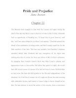 LUYỆN ĐỌC TIẾNG ANH QUA TÁC PHẨM VĂN HỌC-Pride and Prejudice -Jane Austen -Chapter 22