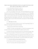 HỘ SẢN XUẤT TRONG NỀN KINH TẾ NƯỚC TA VÀ VAI TRÒ CỦA TÍN DỤNG NGÂN HÀNG TRONG SỰ PHÁT TRIỂN CỦA HỘ SẢN XUẤT