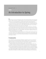 An Introduction to Spring