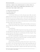CHƯƠNG 3 CHIẾN LƯỢC KINH DOANH CỦA TỔNG CÔNG TY SÀNH SỨ THUỶ TINH CÔNG NGHIỆP ĐẾN NĂM 2008 VÀ CÁC GIẢI PHÁP THỰC HIỆN CHIẾN LƯỢC