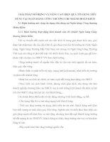 GIẢI PHÁP MỞ RỘNG VÀ NÂNG CAO HIỆU QUẢ TÍN DỤNG TIÊU DÙNG TẠI NGÂN HÀNG CÔNG THƯƠNG CHI NHÁNH HOÀN KIẾM
