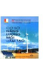 cơ sở năng lượng mới và tái tạo