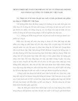 HOÀN THIỆN KẾ TOÁN CHI PHÍ SẢN XUẤT VÀ TÍNH GIÁ THÀNH SẢN PHẨM TẠI CÔNG TY TNHH JPC VIỆT NAM