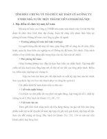 TÌM HIỂU CHUNG VỀ TỔ CHỨC KẾ TOÁN CỦA CÔNG TY TNHH NHÀ NƯỚC MỘT THÀNH VIÊN CƠ KHÍ HÀ NỘI