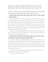MỘT SỐ GIẢI PHÁP NHẰM HOÀN THIỆN XÂY DỰNG CƠ CHẾ KIỂM SOÁT CHẤT LƯỢNG KIỂM TOÁN ĐỘC LẬP  Ở VIỆT NAM