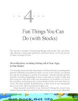 Fun Things You Can Do (with Stocks)