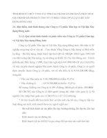TÌNH HÌNH TỔ CHỨC CÔNG TÁC TÍNH GIÁ THÀNH SẢN PHẨM VÀ PHÂN TÍCH GIÁ THÀNH SẢN PHẨM Ở CÔNG TY CỔ PHẦN TẤM LỢP VÀ VẬT LIỆU XÂY DỰNG ĐÔNG ANH