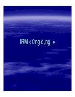IRM ứng dụng