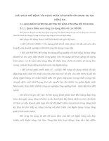GIẢI PHÁP MỞ RỘNG TÍN DỤNG NGÂN HÀNG ĐỐI VỚI DNDD TẠI VIB ĐỐNG ĐA