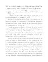 MỘT SỐ GIẢI PHÁP VÀ KIẾN NGHỊ NHẰM NGĂN NGỪA VÀ HẠN CHẾ RỦI RO TÍN DỤNG TRUNG DÀI TẠI NGÂN HÀNG NGOẠI THƯƠNG VIỆT NAM