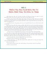 Kim Giác Môn - Hồi 2: Thiểm Tây Đao Xuất Kiêu Ma Tử Thiếu Thất Thùy Tri Hữu Ác Nhân