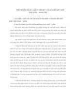 MỘT SỐ VẤN ĐỀ LÝ LUẬN VỀ NGHIỆP VỤ BẢO HIỂM KẾT HỢP HỌC SINH