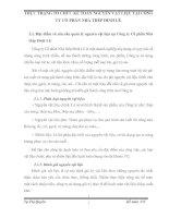 THỰC TRẠNG TỔ CHỨC KẾ TOÁN NGUYÊN VẬT LIỆU TẠI CÔNG TY CỔ PHẦN NHÀ THÉP ĐINH LÊ
