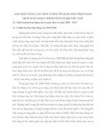 GIẢI PHÁP NÂNG CAO CHẤT LƯỢNG TÍN DỤNG ĐỐI VỚI SỞ GIAO DỊCH NGÂN HÀNG CHÍNH SÁCH XÃ HỘI VIỆT NAM