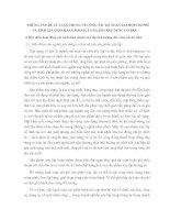 NHỮNG VẤN ĐỀ LÝ LUẬN CHUNG VỀ CÔNG TÁC KẾ TOÁN TẬP HỢP CHI PHÍ VÀ TÍNH GIÁ THÀNH SẢN PHẨM CỦA NGÀNH XÂY DỰNG CƠ BẢN