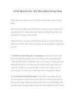 10 lời khuyên cho việc đàm phán lương bổng
