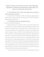 NHỮNG VẤN ĐỀ LÝ LUẬN CƠ BẢN VỀ CHẤT LƯỢNG THẨM ĐỊNH TÌNH HÌNH TÀI CHÍNH DOANH NGHIỆP TRONG HOẠT ĐỘNG TÍN DỤNG CỦA NGÂN HÀNG THƯƠNG MẠI