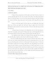 MỘT SỐ ĐÀNH GIÁ VÀ NHẬN XÉT VỀ CÔNG TY TNHH NHÀ NƯỚC MỘT THÀNH VIÊN RƯỢU HÀ NỘI