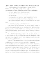 THỰC TRẠNG TỔ CHỨC QUẢN LÝ VÀ HIỆU QUẢ SỬ DỤNG VỐN KINH DOANH Ở CÔNG TY ĐIỆN TỬ CÔNG NGHIÊP