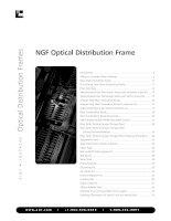 NGF Optical Distribution Frame