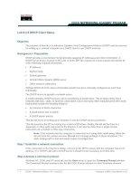 Lab 9.3.5 DHCP Client Setup