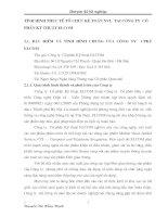 TÌNH HÌNH THỰC TẾ TỔ CHỨC KẾ TOÁN NVL  TẠI CÔNG TY  CỔ PHẦN KỸ THUẬT ELCOM